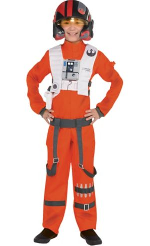 Boys Poe Dameron Costume - Star Wars 7 The Force Awakens
