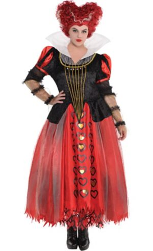 Adult Red Queen Costume Plus Size - Alice Through the Looking Glass