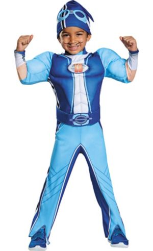 Toddler Sportacus Muscle Costume - LazyTown