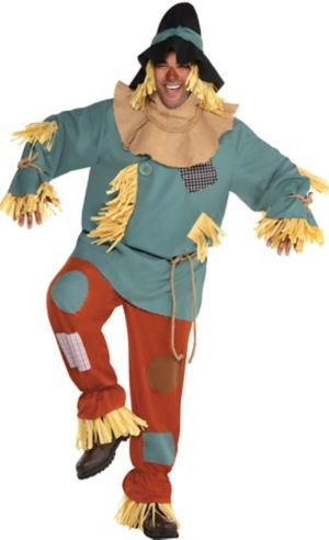 Adult Scarecrow Costume Plus Size - Wizard of Oz