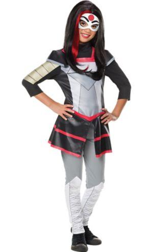 Girls Katana Costume - DC Super Hero Girls