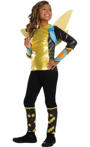 Girls Bumblebee Costume - DC Super Hero Girls