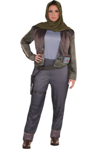 Adult Jyn Erso Costume Plus Size - Star Wars Rogue One