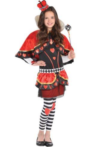 Girls Red Queen Costume