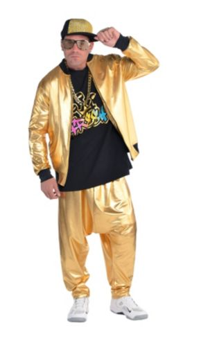 Adult 90s Hip Hop Costume Deluxe