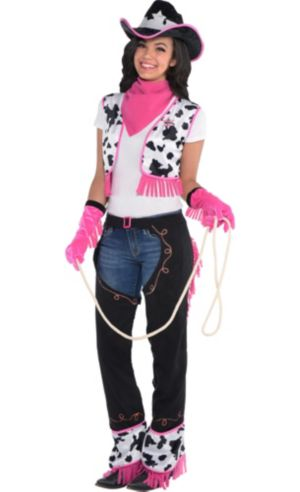 Adult Pink Cowgirl Costume