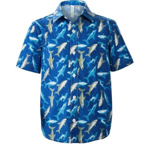 Child Shark Hawaiian Shirt