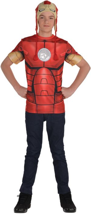 Boys Iron Man Costume