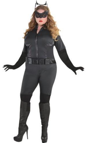 Adult Catwoman Costume Plus Size - The Dark Knight Rises Batman