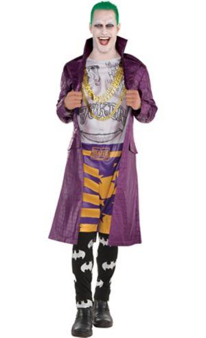 Adult Psycho Joker Costume - Suicide Squad