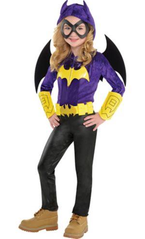 Little Girls Batgirl Jumpsuit Costume - DC Super Hero Girls
