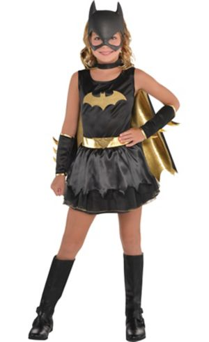 Girls Batgirl Costume - DC Comics New 52