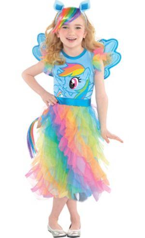 Little Girls Rainbow Dash Costume - My Little Pony