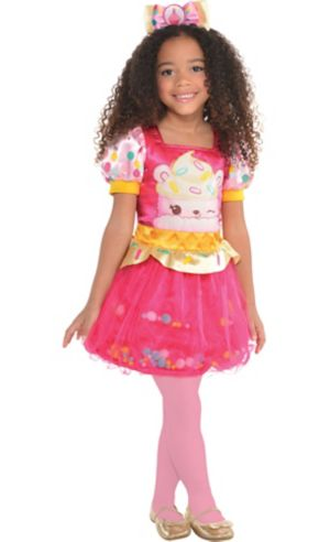 Little Girls Connie Confetti Costume - Num Noms