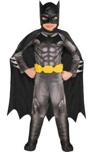 Little Boys Batman Muscle Costume - DC Comics New 52
