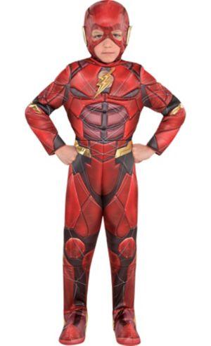 Little Boys The Flash Muscle Costume - Justice League Part 1