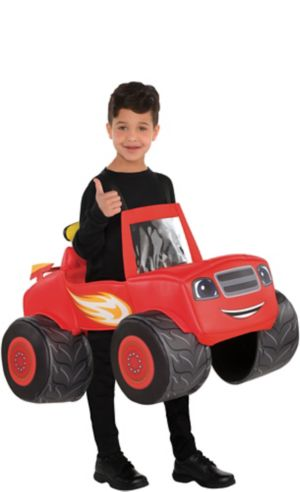Boys Blaze Truck Ride-On Costume - Blaze and the Monster Machines