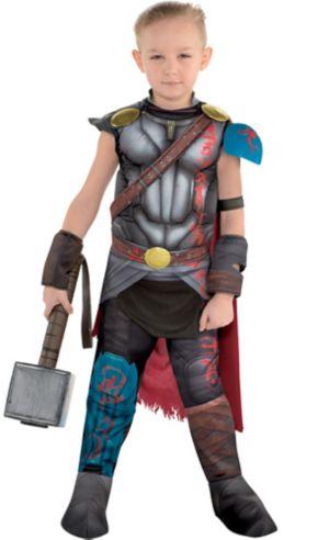Little Boys Thor Muscle Costume - Thor: Ragnarok