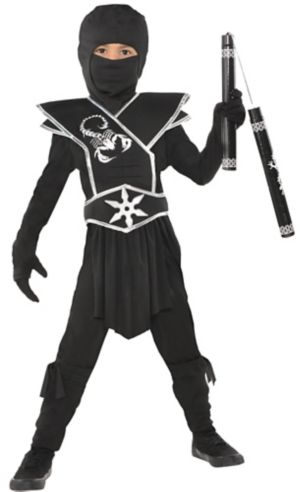 Little Boys Black Ops Ninja Costume