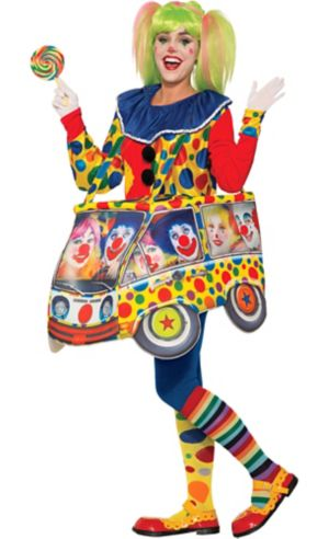 Adult Clown Car Ride-On Costume