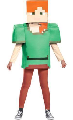 Girls Alex Costume - Minecraft