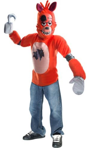 Boys Foxy Costume - Five Nights at Freddy's