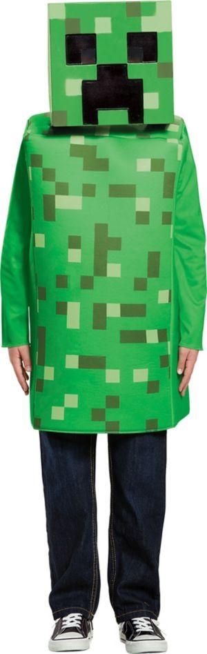 Boys Creeper Costume - Minecraft