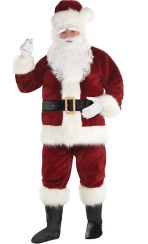 2016 Hot Hooded Santa Costumes Cosplay Lovely Xmas Dress