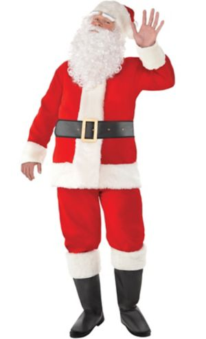Adult Velvet Santa Suit