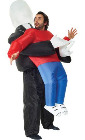 Adult Inflatable Slenderman Pick-Me-Up Costume