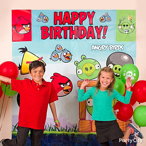 Angry Birds Photo Booth Idea