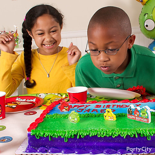 Angry Birds Layer Cake Idea
