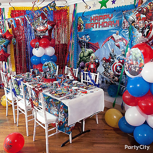 Avengers Balloon Column How To
