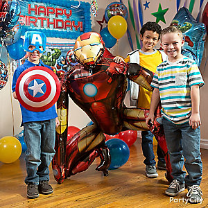 Avengers Balloon Photo Op Idea