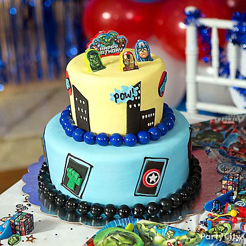 Avengers Fondant Cake How To