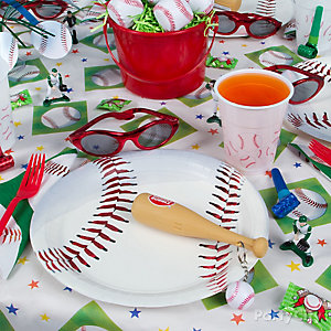 Baseball Place Setting Idea