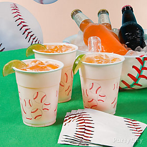 Baseball Sodas Drink Idea