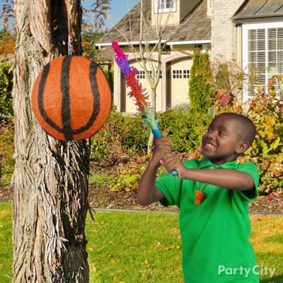 Basketball Pinata Game Idea