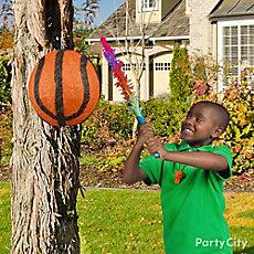 Basketball Pinata Game Idea
