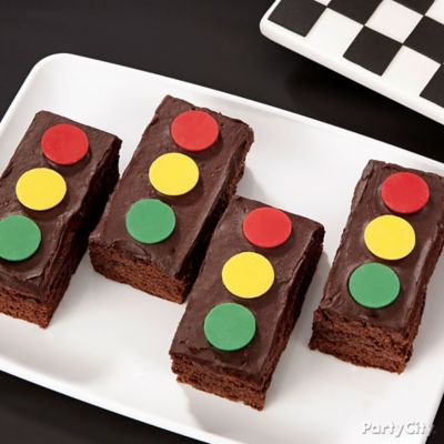 Cars Stoplight Brownies How To