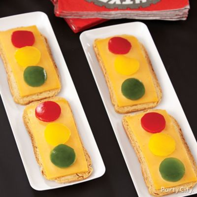 Cars Cheese & Pepper Crackers How To