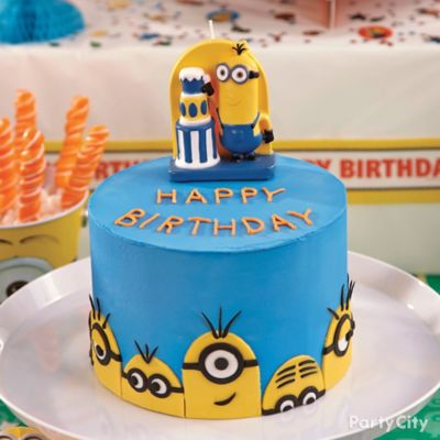Despicable Me Sweets Treats Despicable Me Party Ideas Boys