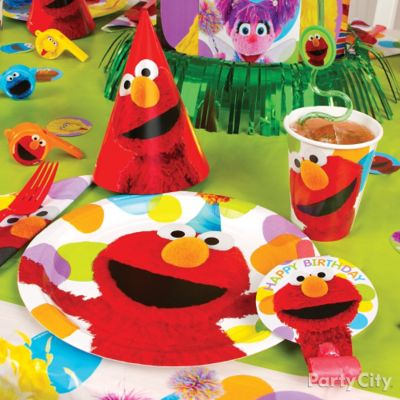 Elmo Place Setting Idea