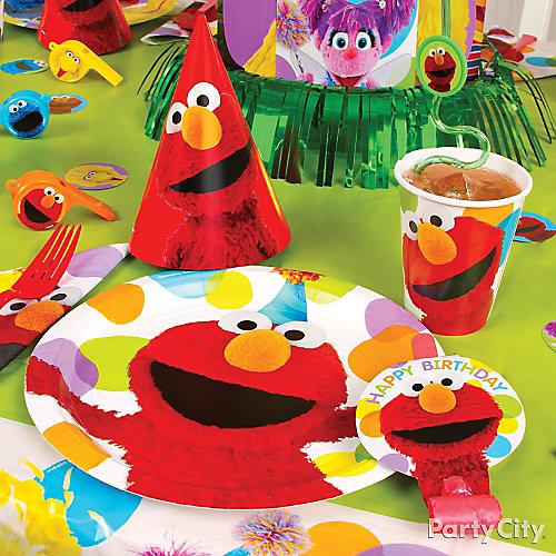 Elmo Place Setting Idea