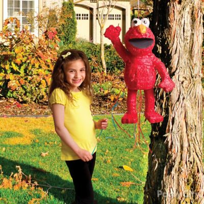Elmo Pinata Game Idea