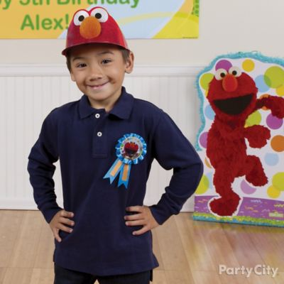 Elmo Birthday Outfit Idea