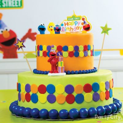 Elmo Fondant Cake How To