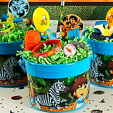 Go Diego, Go! Favor Bucket Idea