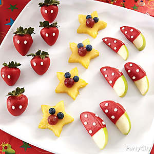 Mickey Mouse Fruit Stars How To