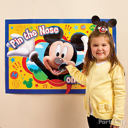 Mickey Mouse Pin-It Game Idea
